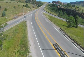 SH-8 S of Morrison (Looking NB on CO 8) CDOT Weather And Traffic Cameras