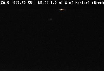 US-24 1.0mi W of Hartsel (Looking EB) CDOT Weather And Traffic Cameras