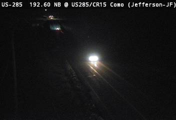 CR15 Como (Looking SB) CDOT Weather And Traffic Cameras