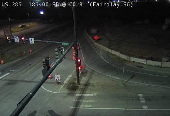 CO-9 Fairplay (SB) CDOT CDOT Weather And Traffic Cameras