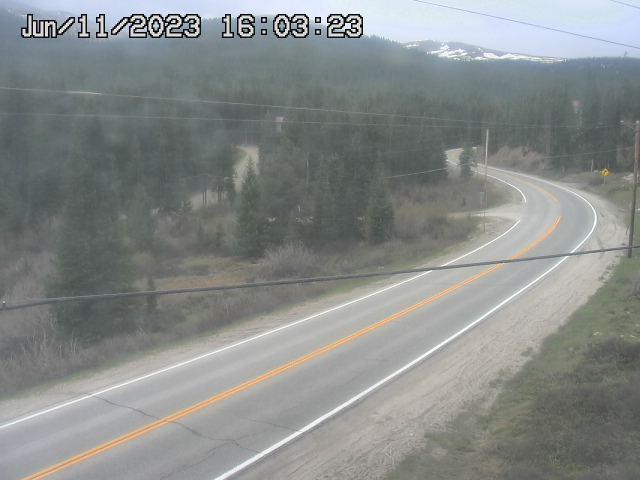 3.5 mi N of Hoosier Pass (LV) SB CDOT Weather And Traffic Cameras